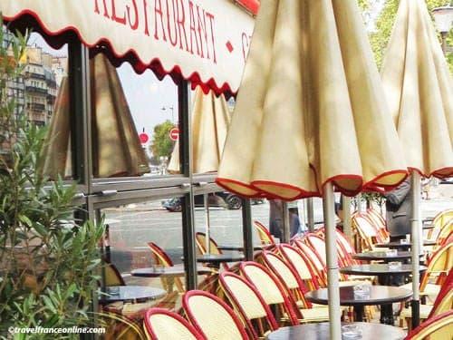 Paris 8th district - Cafe terrace