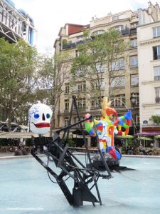 Stravinsky Fountain - La Mort - Death