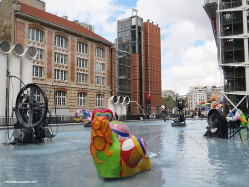Stravinsky Fountain