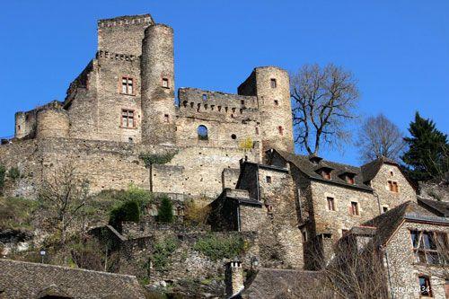 Chateau de Belcastel in Aveyron