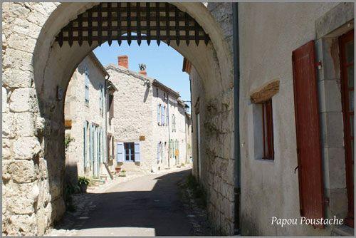 Entering Charroux