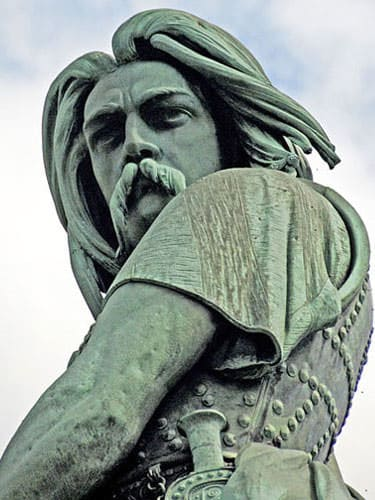 Statue of Vercingetorix in Alesia