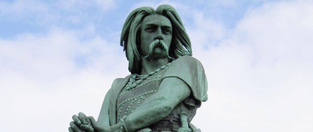 Statue de Vercingetorix in Gergovie and Alesia