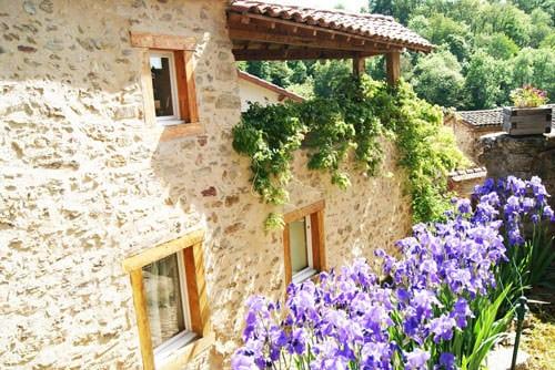 Picturesque village of Auzon, Petite Cité de Caractère in Auvergne