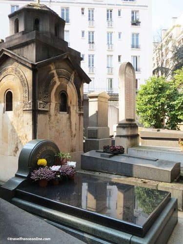 Cimetiere de Passy - Claude Debussy's grave