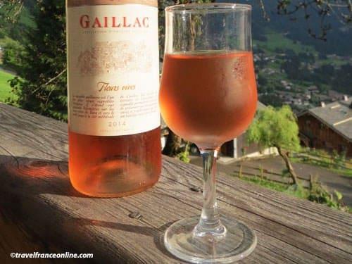 Gaillac wine - rosé