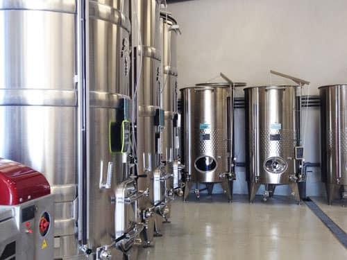 Gaillac wine vats