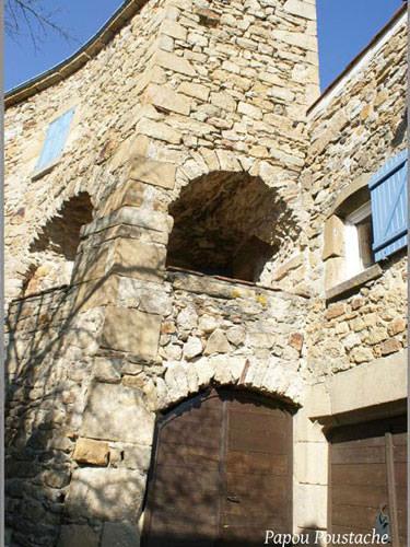 Montpeyroux village house