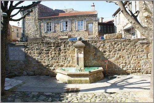 Fountain in Montpeyroux