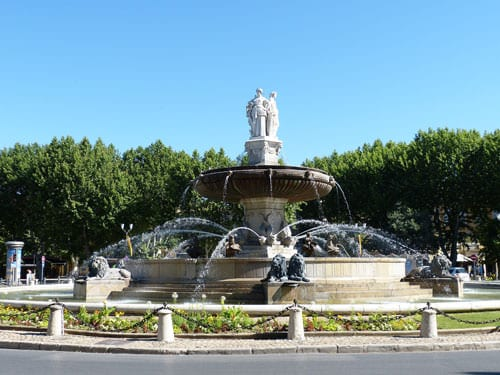 Fontaine de la Rotonde in Aix-en-Provence