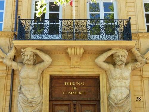 Aix en provence cezanne 39 s hometown calissons - Tribunal de commerce de salon de provence ...
