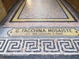 Galerie Vivienne - Facchina's signature
