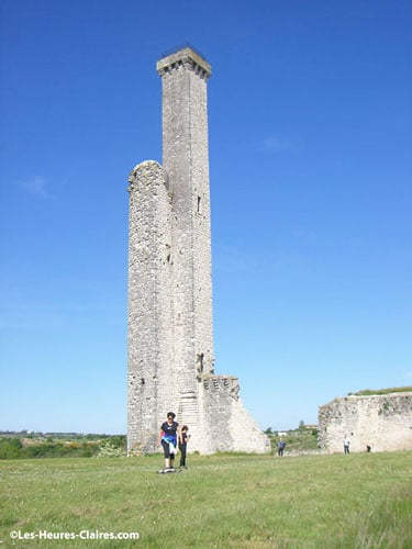 Watch tower in Castelnau near Albi