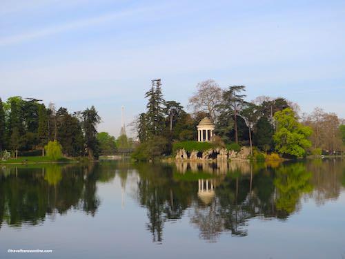 Bois de Vincennes in Paris