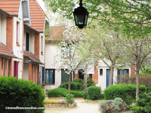 La Petite Alsace courtyard