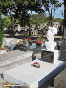 Montparnasse Cemetery - Cecile Sorel's grave