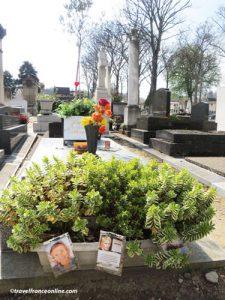 Montparnasse Cemetery - Jean Seberg's grave