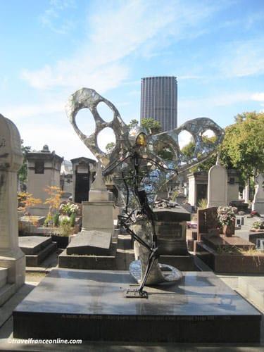 Montparnasse Cemetery - L'Oiseau by Nicki de St. Phalle