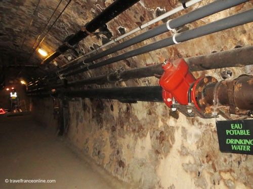 Paris sewers - Drinking water pipes network