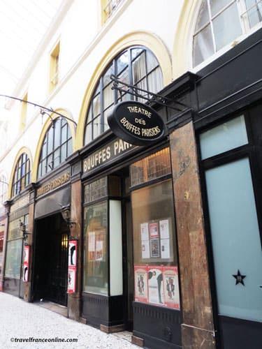 Theatre des Bouffes Parisiens in Passage Choiseul