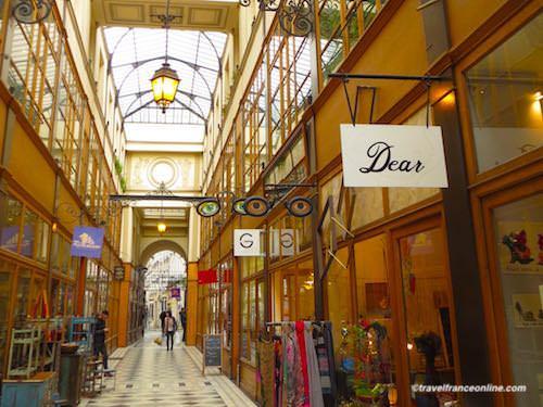 Passage du Grand Cerf in Paris