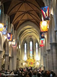 American Cathedral in Paris Sunday Service