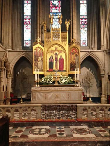 American Cathedral in Paris altar