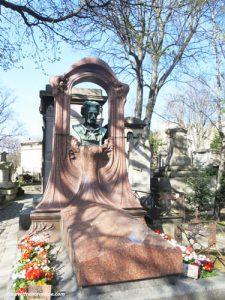 Montmartre Cemetery - Emile Zola's cenotaph