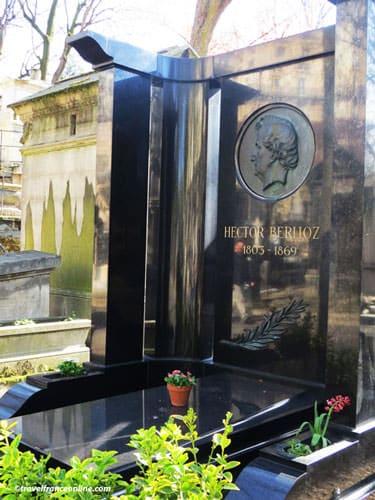 Montmartre Cemetery - Hector Berlioz' grave