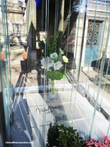 Montmartre Cemetery - Michel Berger's grave