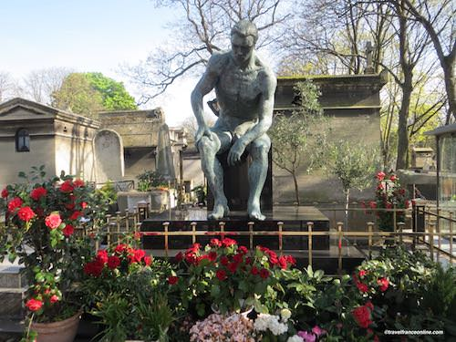 Montmartre Cemetery in Paris - Jean Bauchet's grave
