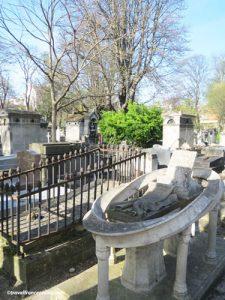 Montmartre Cemetery - Painter Andre Charron's grave