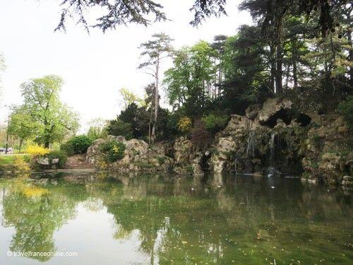 Bois de Boulogne - Grande Cascade de Longchamp