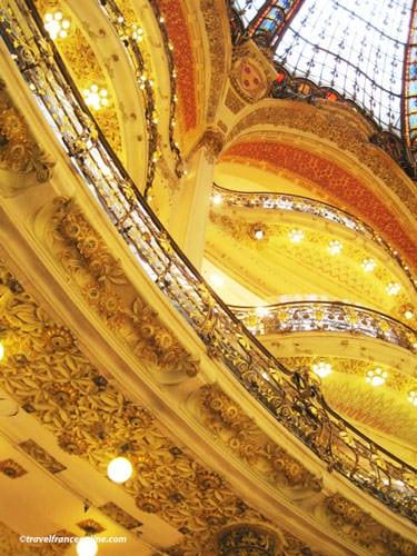 Galeries Lafayette - Detail decoration