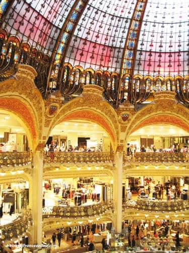 Galeries Lafayette loggias