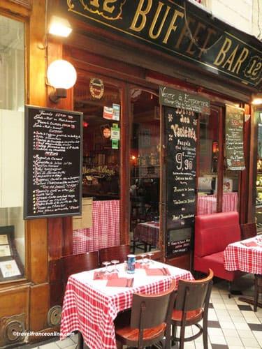 Passage des Panoramas restaurant