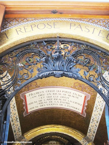 Pasteur Museum - Entrance to the crypt