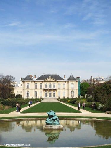 Rodin Museum - Hotel de Biron and gardens