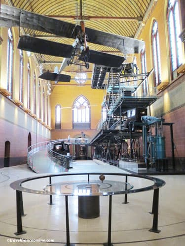 Arts et Metiers Museum - Foucault's Pendulum in the church nave
