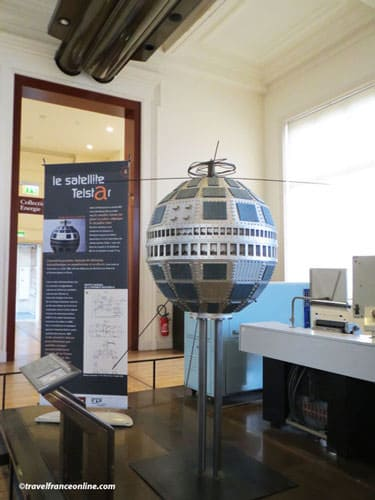 Arts et Metiers Museum - Satellite Telstar
