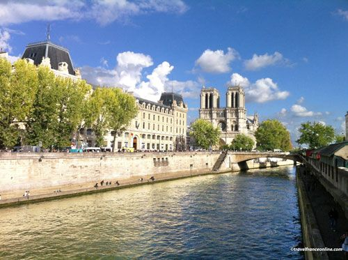 Petit Pont and Notre-Dame Cathedral