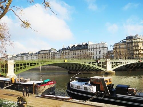 Pont de Sully seen from the Rive Gauche