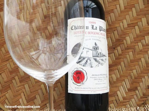 Bergerac wines - red