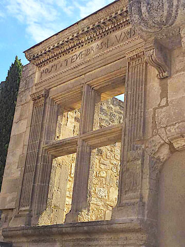 Baux de Provence - Ruins of the fortress