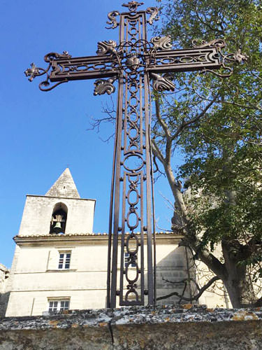 Baux de Provence - Church and Cross