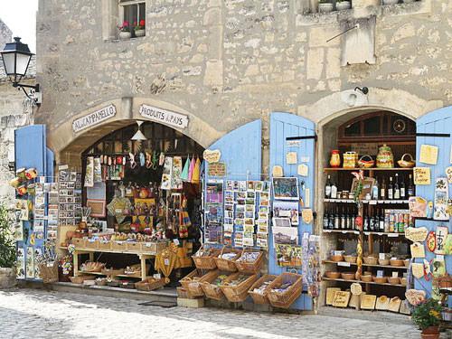 Les Baux-de-Provence - shop