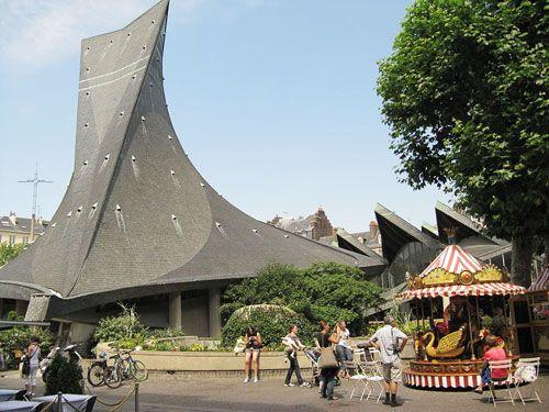 Eglise Sainte-Jeanne d'Arc in Rouen