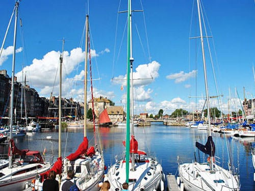 Honfleur Vieux Bassin and Lieutenance