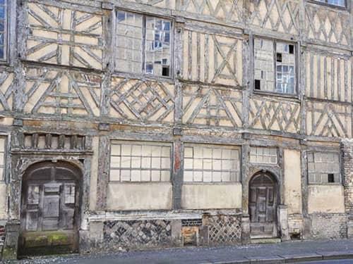 Maison Miffant, Rue d'Ecosse in Dieppe