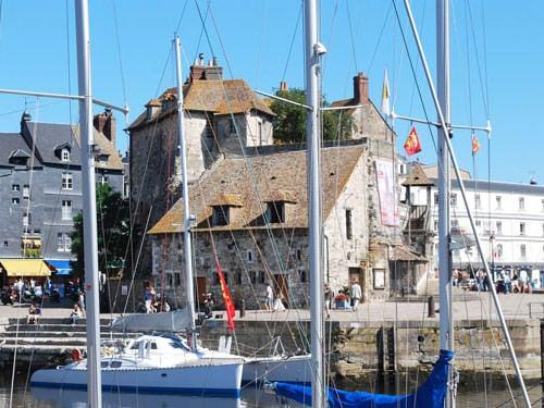 Lieutenance in port of Honfleur